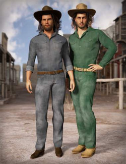 MD dForce Classic Jeans Male Outfit Textures