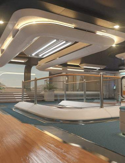 Observation Deck - Sci-Fi Environment