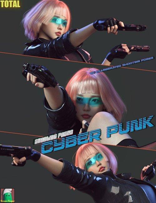 GF Total CPP Shooting Poses for Genesis 8 Females