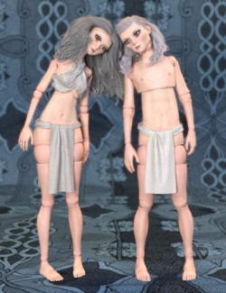 SF Ball Jointed Dolls for Genesis 8 and 8.1