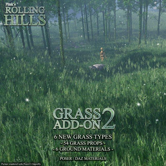 Flinks Rolling Hills - Grass Add-On 2