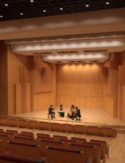 Recital Hall and Auditorium