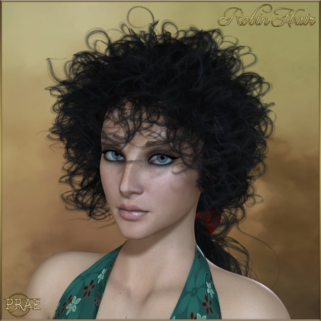 Prae-Robin Hair For La Femme Poser