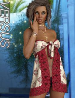 VERSUS - dForce Bandana Dress for Genesis 8 Females