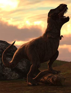 Jurassic Hierarchical Poses for Rex HD