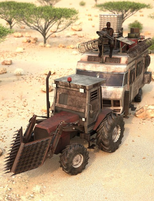 Zombie Tractor RV