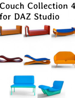 Couch Collection 4 for DAZ Studio