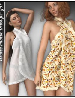 dForce - Phoebe Dress for G8F
