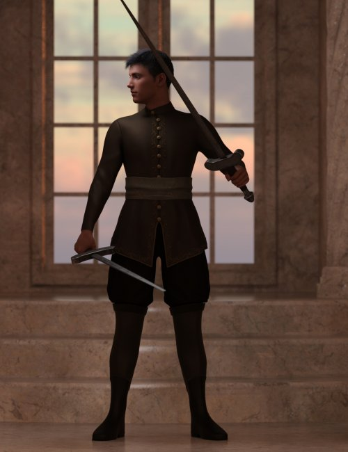 Charming Poses for Genesis 8.1 Male
