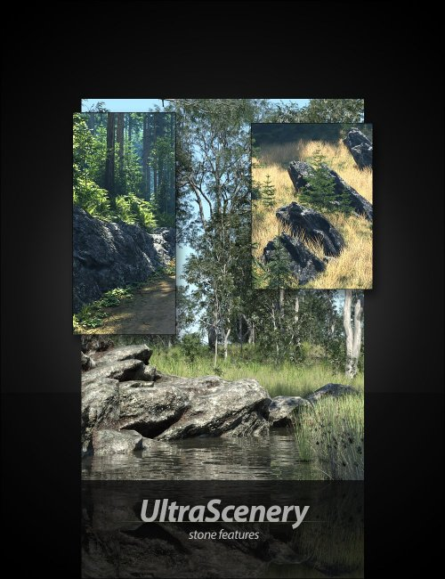 UltraScenery - Stone Features