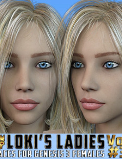 Loki's Ladies Faces Volume #3