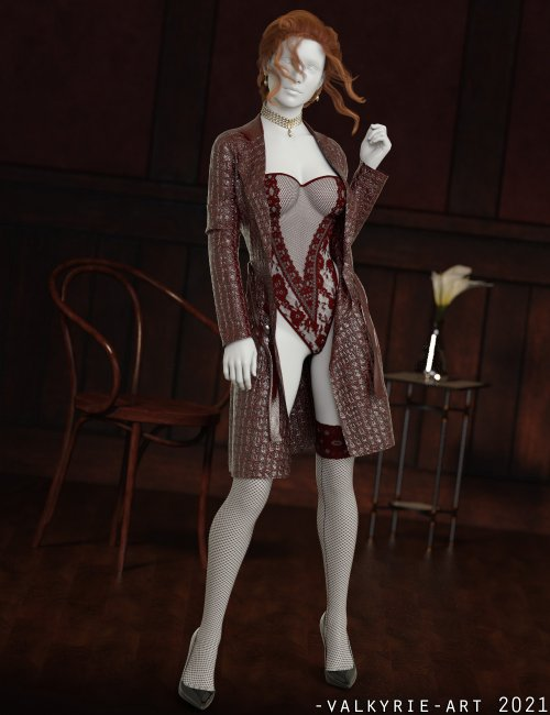 InStyle - I'm Savage dforce outfit for Genesis 8 & 8.1 Females