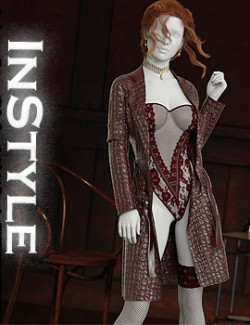 InStyle- I'm Savage dforce outfit for Genesis 8 & 8.1 Females