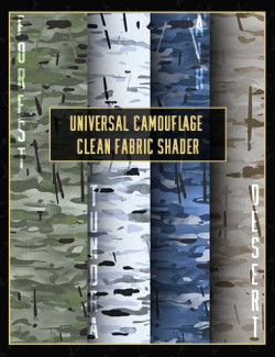 Universal Camouflage Clean Fabric Shader