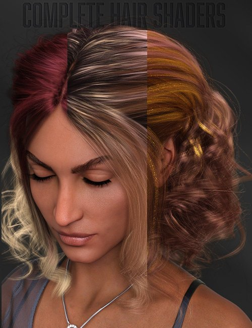 Twizted Complete Iray Hair Shaders