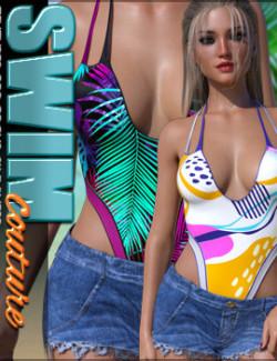 SWIM Couture Textures for Focus Swimwear