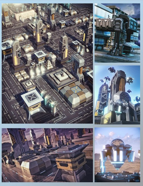 X-BIT Future Space City Bundle