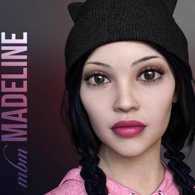 MbM Madeline for Genesis 3 & 8 Female