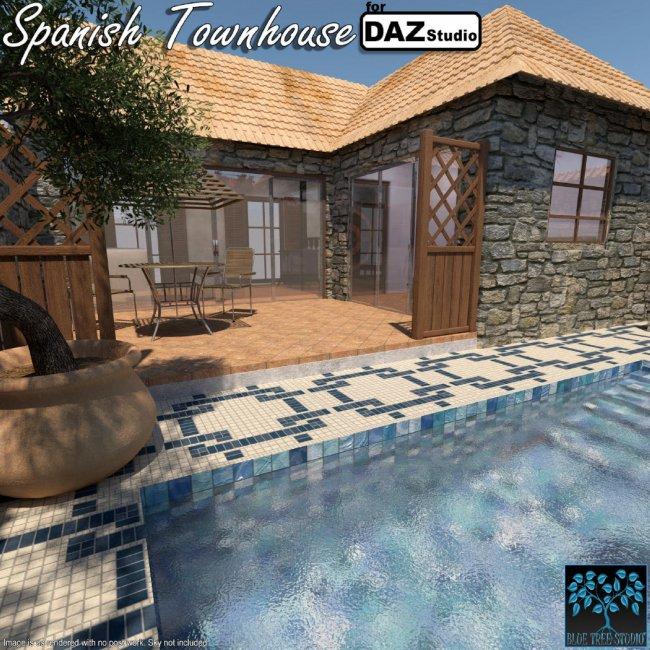 Spanish Townhouse for Daz
