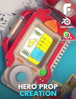 Hero Prop Creation in Blender and Substance Painter