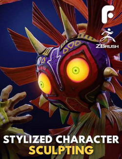 Stylized Character Sculpting in ZBrush – Majora and Skull Kid