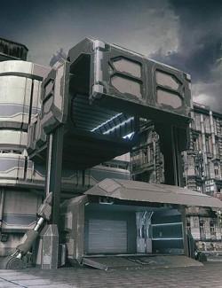 X-BIT Future Space Transmission Warehouse