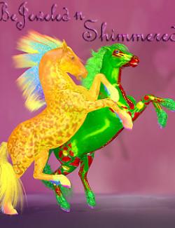 FL-RD BeJeweled-n-Shimmered for the HW Horse