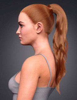 High Ponytail for Genesis 8 and 8.1 Females