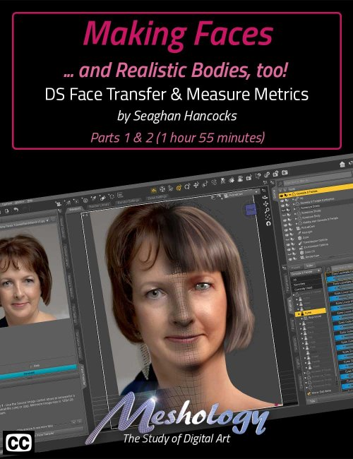 Making Faces ...and Realistic Bodies Too!