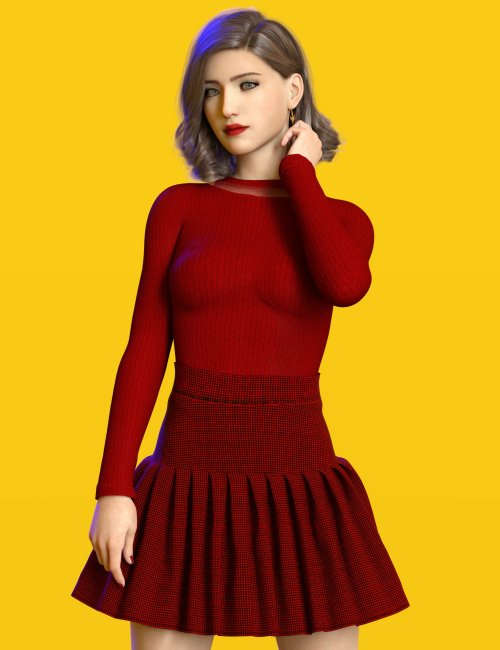 dForce Coco Outfit for Genesis 8 and 8.1 Females