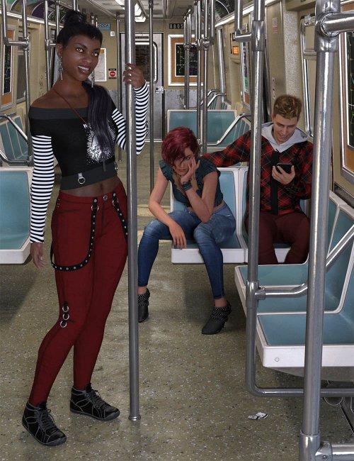 CDI Subway Poses for Genesis 8.1
