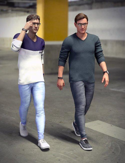 Metropolitan Fashion for Genesis 8.1 Males