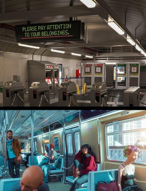 Morning Subway Commute Bundle