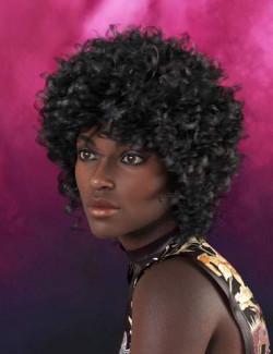 Iris Hair for Genesis 8