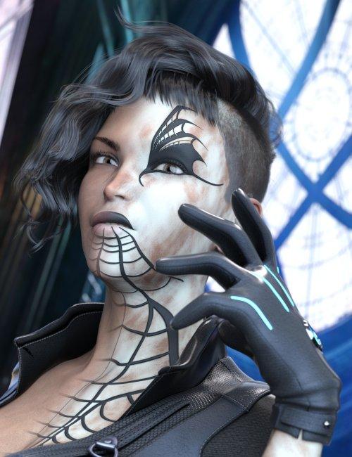 Wylo the White Widow for Genesis 8.1 Female