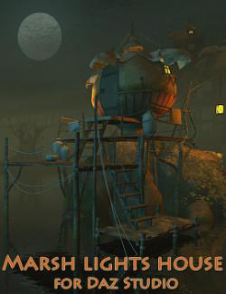 Marsh lights house for Daz Studio