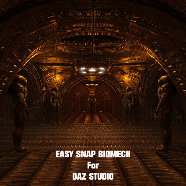 Easy Snap BioMech for Daz Studio