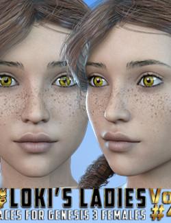 Loki's Ladies Faces Volume #4