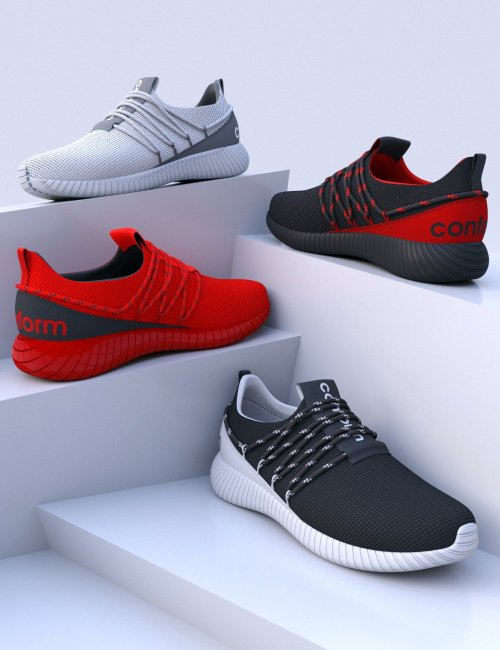 HL Conform Sneakers for Genesis 8 and 8.1 Males