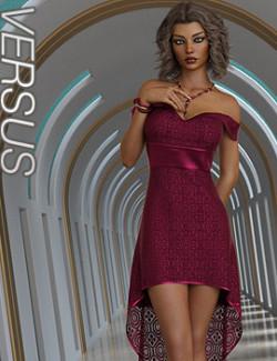 VERSUS- dForce Judy Dress for Genesis 8 and 8.1 Females