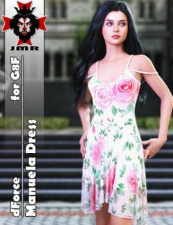 JMR dForce Manuela Dress for G8F