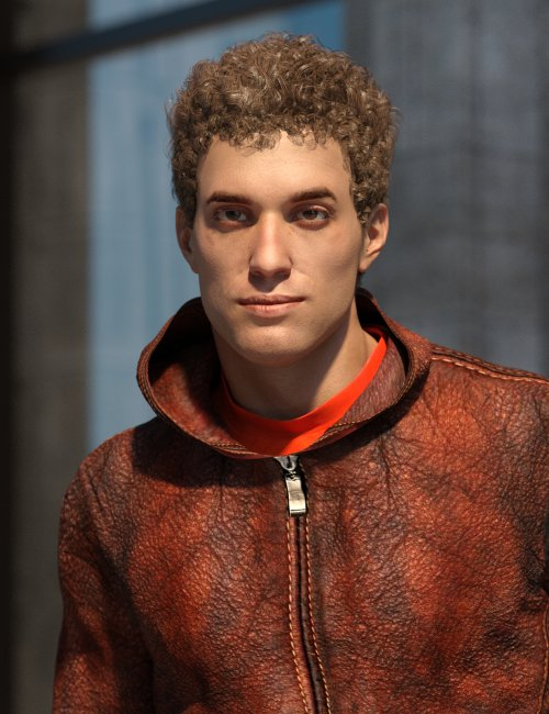 Standalone Egan with Hair and Outfit