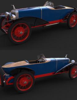 BALLOT LS 1923 for DAZ Studio