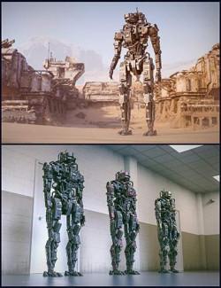 Cyberpunk MEC Droid