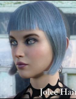 Jolee Hair for Genesis 8 Females and Males