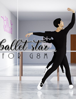 Ballet Star - Tights + Poses For G8M