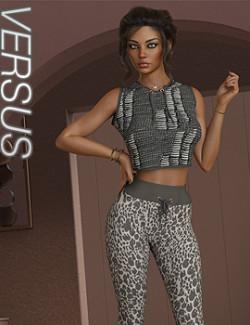 VERSUS- dForce Amelie Homewear for Genesis 8.1 Females