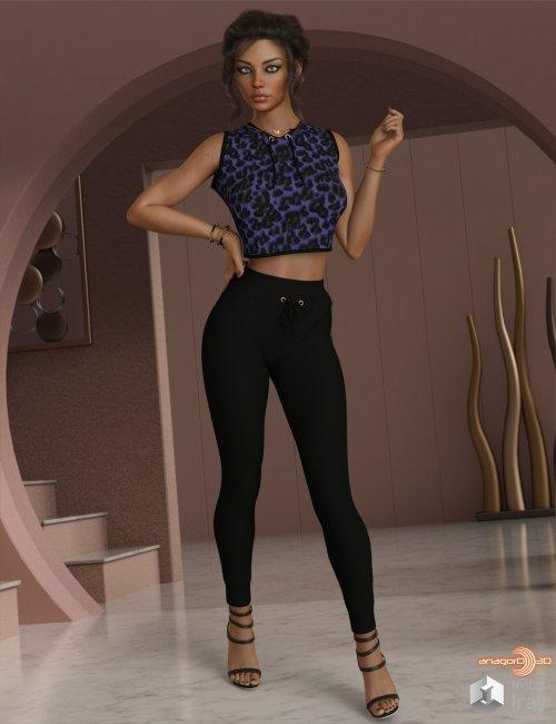 VERSUS - dForce Amelie Homewear for Genesis 8.1 Females