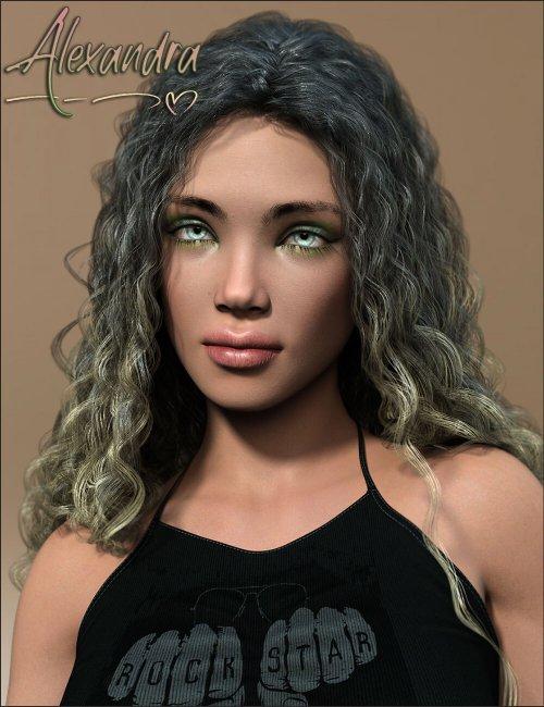 TDT-Alexandra for Genesis 8.1 Female