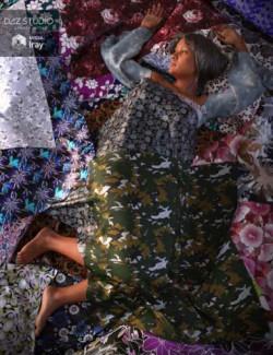 Floral Silk Iray Shaders